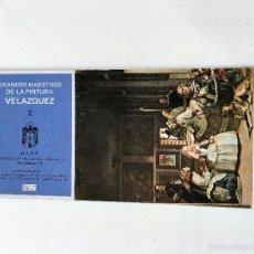 Postales: 10 POSTALES GRANDES MAESTROS DE LA PINTURA VELAZQUEZ. Lote 59902323