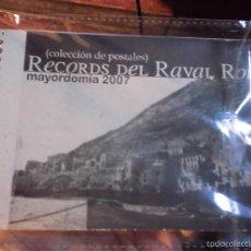 Postales: RAVAL ROIG RECUERDOS COLECCION ALBUM POSTALES FIESTAS EQUIPO FUTBOL MARINA DE ALICANTE. Lote 50017258