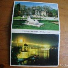Postales: LOTE LIBRO CON 12 POSTALES DE ESTAMBUL. Lote 61690168