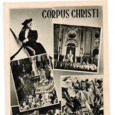 Postales: PS6897 GRANADA 'CORPUS CHRISTI'. FOURNIER. CIRCULADA. 1952. Lote 61911120