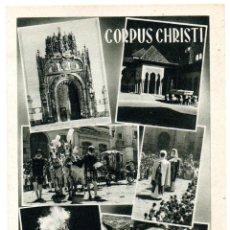 Postales: PS6898 GRANADA 'CORPUS CHRISTI'. FOURNIER. CIRCULADA. 1952. Lote 61911424