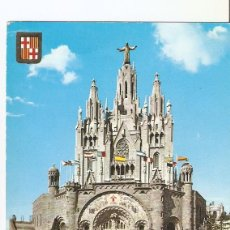 Postales: POSTAL 022932 : TEMPLO EXPIATORIO. TIBIDABO, BARCELONA. Lote 55550064