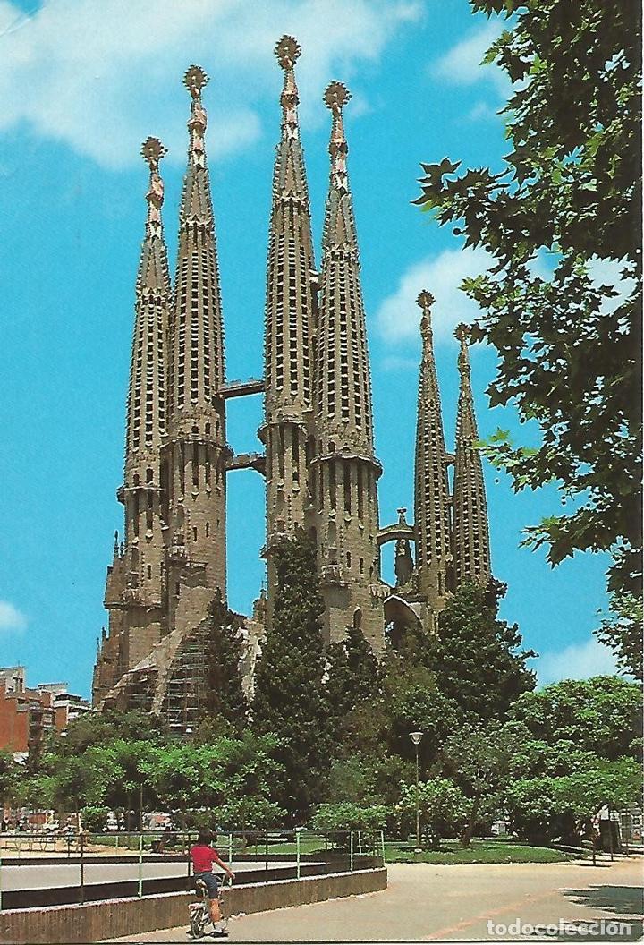 POSTAL 51814: BARCELONA - TEMPLO SAGRADA FAMILIA (Postales - Varios)