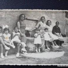 Postales: ANTIGUA POSTAL. FUENTE DE LA SALUD. ALTO PALANCIA.. Lote 64283143