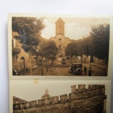 Postales: LIBRITO CON 20 POSTALES ANTIGUAS MONASTERIO DE SANTA CREUS. Lote 64428895