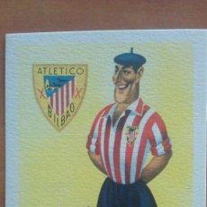 Postales: POSTAL ANTIGUA DE FÚTBOL: ATHLETIC DE BILBAO. Lote 217562003