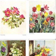 Postales: LOTE DE 4 POSTALES COLOR ORIGINALES ALEMANAS. Lote 64481051