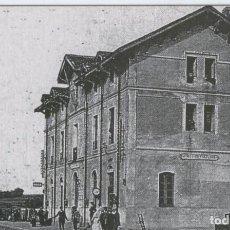 Postales: POSTAL 012350: ESTACION DE CALDES DE MALAVELLA (GIRONA), AÑO 1920. Lote 64695461