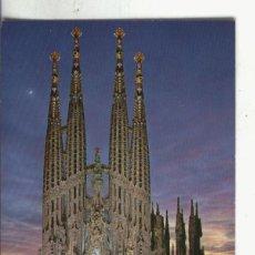 Postales: POSTAL 4070 : BARCELONA: SAGRADA FAMILIA. Lote 64953605