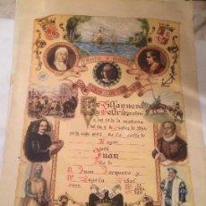 Postales: ANTIGUO RECORDATORIO DE NACIMIENTO FECHADO EN 1953 EN VILANOVA Y LA GELTRU . Lote 67040738