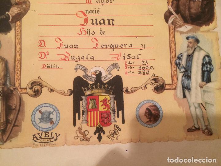 Postales: Antiguo recordatorio de nacimiento fechado en 1953 en Vilanova y la Geltru - Foto 2 - 67040738