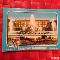 Postales: RECORDATORIO POSTALES, PALACIO REAL HERRENCHIEMSEE ( ALEMANIA ). Lote 67222546