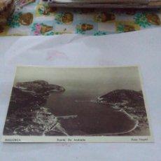 Postales: LAS POSTALES DEL AYER II, DIARIO DE MALLORCA. PUERTO DE ANDRAITX.. Lote 68810393