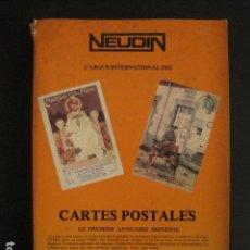 Postales: CATALOGO TARJETAS POSTALES ANTIGUAS - NEUDIN -1979- (V-7848). Lote 69390057