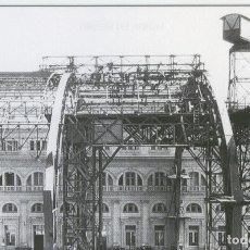 Postales: POSTAL 012471: CONSTRUCCION ESTACION DE FRANCIA (BARCELONA), AÑO 1926. Lote 69565343