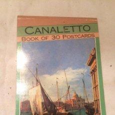 Postales: ANTIGUO BLOQUE DE POSTALES CANALETTO AÑO 1992 . Lote 69974941