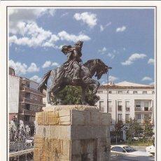 Cartes Postales: POSTAL 61618 : PLASENCIA (CACERES). MONUMENTO A ALFONSO VIII. FUNDADOR DE PLASENCIA. Lote 70054514