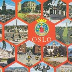 Postales: POSTAL 61345 : OSLO NORWAY. Lote 70056274