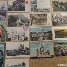 Postales: LOTE 16 POSTALES VARIADAS ANTIGUAS. Lote 70086657