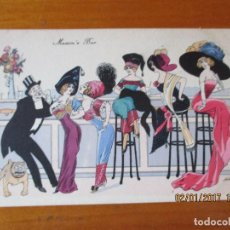 Postales: MAXIM'S BAR -DE XAVIER SAGER. Lote 71169093