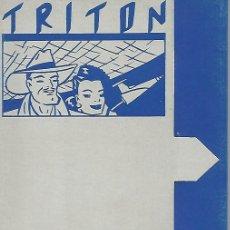 Postales: CARPETA 51989: CARPETA VACIA DANIEL TORRES - TRITON. Lote 72994771