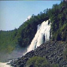 Postales: POSTAL 56365: NORWAY ESPELANDSFOSS WATERFALL HARDANGER. Lote 73805182