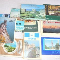 Postales: LOTE MAS 100 POSTALES SOVIETICOS DE DIFERENTES TEMATICAS .KRIMEA .RUSIA.URSS. Lote 75483574