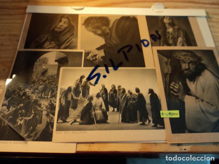 Postales: 10 POSTALES OFFIZIELLE POSTKARTE Passionsspiele Oberammergau 1930 - Foto 2 - 75593599