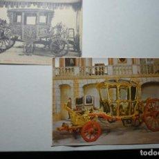Postales: LOTE POSTALES EXTRANJERAS CARRUAJES CM. Lote 76941805