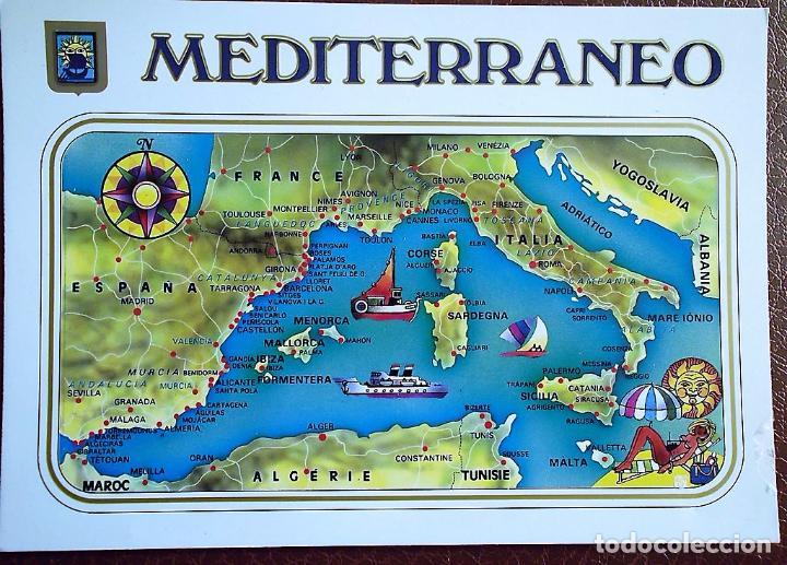 Mapa Del Mar Mediterraneo.Luz Y Color Del Mediterraneo 37 Mapa Del Mar M Vendu En
