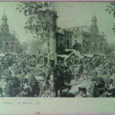 Postales: POSTAL VALENCIA EL MERCADO. Lote 79352173