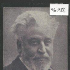 Postales: POSTAL FRANCISCO DE A. DARDER Y LLIMONA - INAUGURADOR DE LA FIESTA DEL PEZ - VER REVERSO -(46.912). Lote 79997505