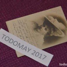 Postales: ANTIGUA POSTAL CIRCULADA - PRINCIPIO DE SIGLO - SA VICTORIA EUGENIA DE BATTENBERG - VINTAGE - RARA. Lote 80139165
