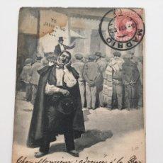 Postales: POSTAL,433 HAUSER Y MENET, 1902, EL SACAMUELAS. Lote 80370703