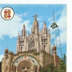Postales: POSTAL 040425 : BARCELONA. TEMPLO EXPIATORIO DEL TIBIDABO. Lote 81926815
