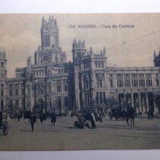 Postales: MADRID 154 CASA DE CORREOS. Lote 81949840