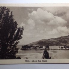 Postales: VIGO ISLA DE SAN SIMÓN FOURNIER. Lote 82349868