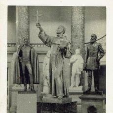 Postales: TARJETA POSTAL DEL MONUMENTO A FRAY JUNÍPERO SERRA EN EL CAPITOLIO. (2.1 MELIÁ). Lote 82461596