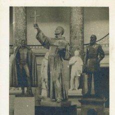 Postales: TARJETA POSTAL DEL MONUMENTO A FRAY JUNÍPERO SERRA EN EL CAPITOLIO. (2.1 MELIÁ). Lote 82461812