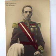 Postales: S. M. DON ALFONSO XIII, REY DE ESPAÑA. FOTO FRANZEN. Lote 82464532