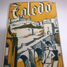 Postales: TOLEDO ÁLBUM DE 12 POSTALES HELIOTIPIA ARTÍSTICA. Lote 83764298