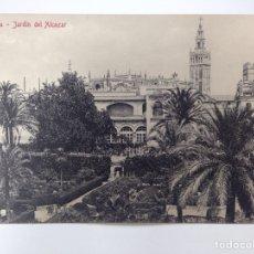 Postales: SEVILLA JARDÍN DEL ALCÁZAR COL. CHAPARTEGUY. Lote 83968782