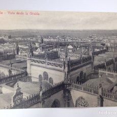 Postales: SEVILLA VISTA DESDE LA GIRALDA COL. CHAPARTEGUY. Lote 83969178