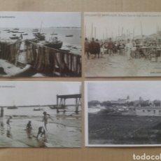 Postales: 24 POSTALES HISTÓRICAS DE SANLÚCAR DE BARRAMEDA. REPRODUCCCIONES EN FORMATO POSTAL (B/N Y COLOR). Lote 84056947
