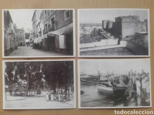Postales: 24 postales históricas de Sanlúcar de Barrameda. Reproduccciones en formato postal (B/N y color) - Foto 2 - 84056947