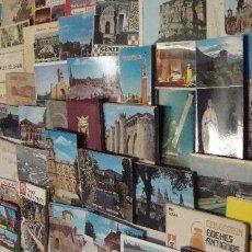 Postales: IMPRESIONANTE LOTE DE 140 CARTERA DE POSTALES ACORDEON MUY VARIADO ESPAÑA EXTRANJERO PUBLICITARIAS. Lote 84273656