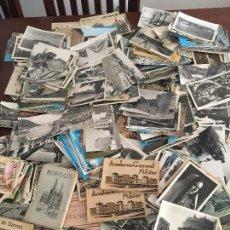 Postales: LOTE DE UNAS 1000 POSTALES ANTIGUAS , UNAS 900 ESPAÑOLAS , POSTAL. Lote 84308500
