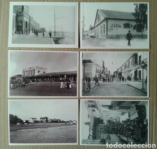 Postales: 24 postales históricas de Sanlúcar de Barrameda. Reproduccciones en formato postal (B/N y color) - Foto 6 - 84056947