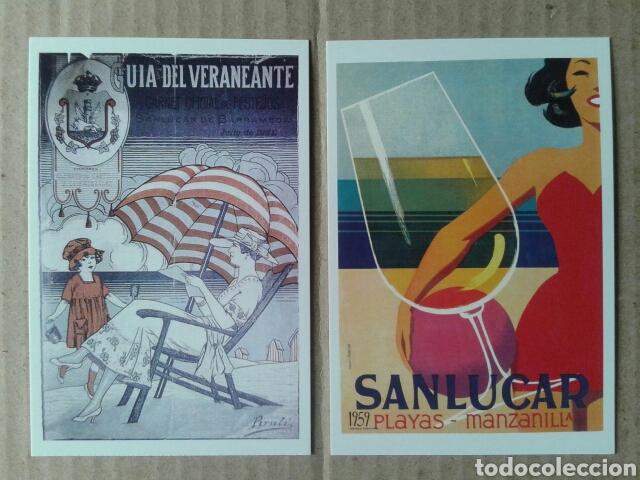 Postales: 24 postales históricas de Sanlúcar de Barrameda. Reproduccciones en formato postal (B/N y color) - Foto 7 - 84056947
