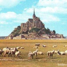 Postales: POSTAL FRANCIA- MONT SAINT MICHEL. Lote 84646144